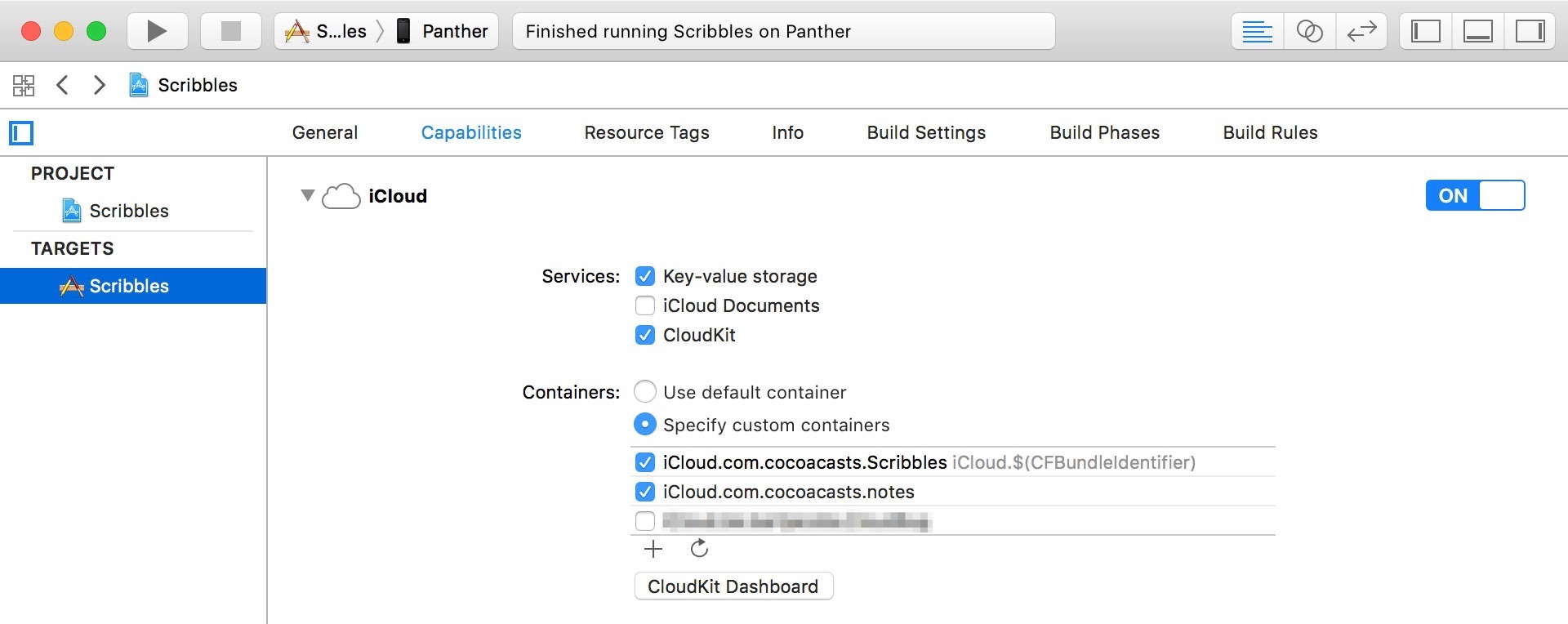Accessing Other iCloud Containers