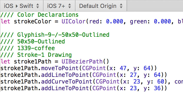 Drawing Shapes In Swift With PaintCode