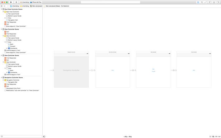 Adding View Controllers