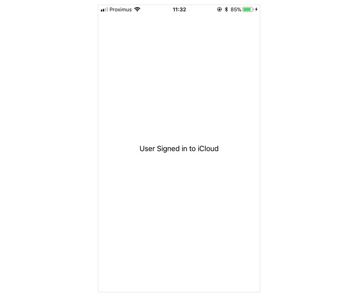 Reactifying iCloud Account Status Changes With RxSwift