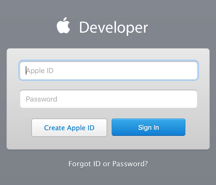 Visiting Apple's Developer Website