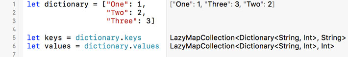 What Is a LazyMapCollection in Swift